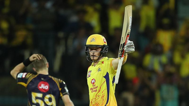 Sam Billings helped CSK get back into the game with an influential fifty. (Photo: BCCI)