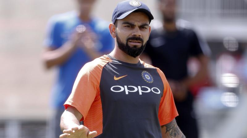 Having lost the closely-contested first Test by a margin of 31 runs, skipper Virat Kohli indicated that his team could field two spinners to capitalise on the pitch when it is worn out while speaking at a press conference ahead of the second Test. (Photo: AP)