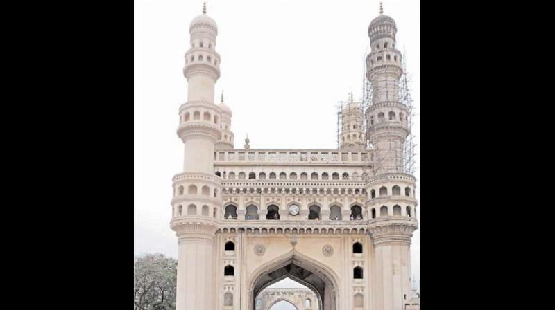 The restoration work at Charminar has been going on from some time. However, the project to restore the monument's grandeur seems to be loosing its pace.