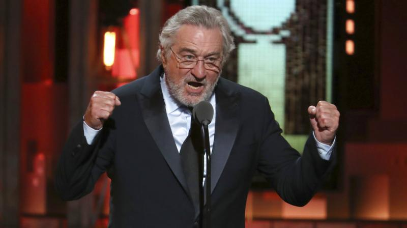 DeNiro has never been a fan of Trump, and he's not afraid to share his thoughts. He compared the then New York real estate developer to a used care salesman in 2011. (Photo: AP)
