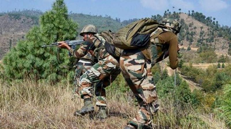 The telephone exchange took place three hours after the Pakistani army fired mortar shells along the LoC in the Poonch and Rajouri districts, killing an Indian Army jawan and a nine-year-old girl. (Representational Image)