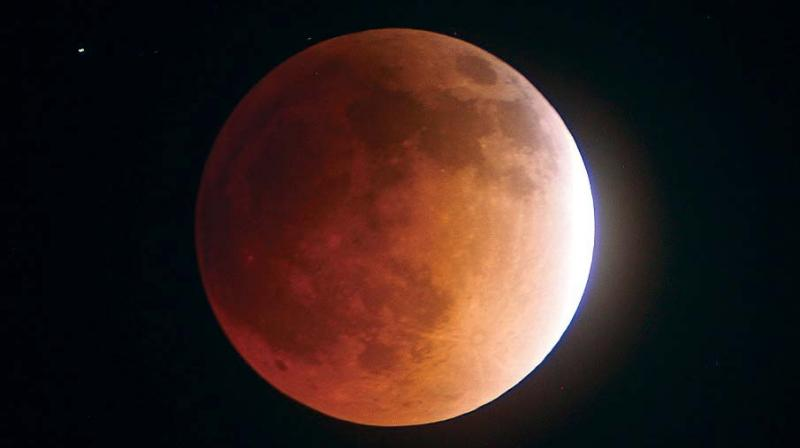 "The unusual ""super blue blood moon"", which will be at its closest point to earth on Wednesday, will also experience an eclipse."