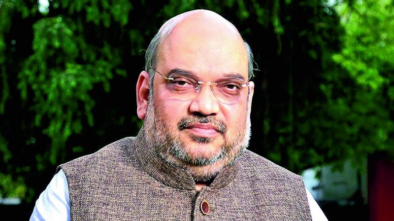Amit Shah will chair a high level security meeting in Srinagar and also address ruling BJP workers and Panchayat members separately during this visit. (Photo: File)