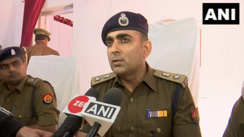 According to Jogendra Kumar, SSP of Ayodhya, the incident took place in Bodhipurwa village. (Photo: ANI)