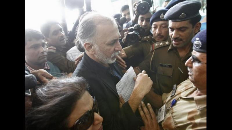 Tejpal had moved the high court against the order of Additional District and Sessions Court. (Photo: ANI)