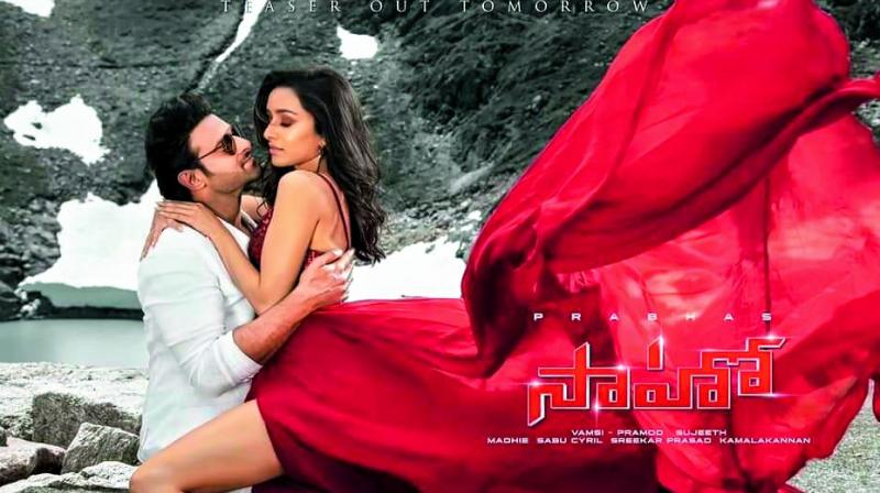 Prabhas plans to start his tour from the second week of this month and continue it just before the release date.