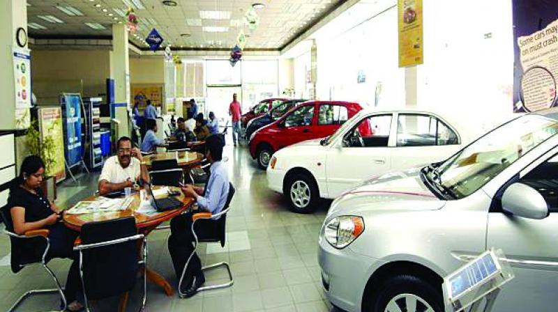 """""""The passenger vehicle volumes are estimated to have declined by 27-31 per cent in July as compared to last year basis July sales performance of players like Maruti, M&M & Hyundai, which together have 75-77 per cent market share in terms of volume,"""" Hetal Gandhi, Director at Crisil Research"""