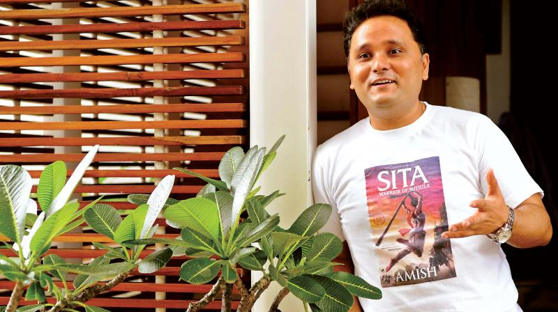 Amish Tripathi, his latest book, Sita: Warrior of Mithila, the second in the Ram Chandra Series, hit the stands in May.