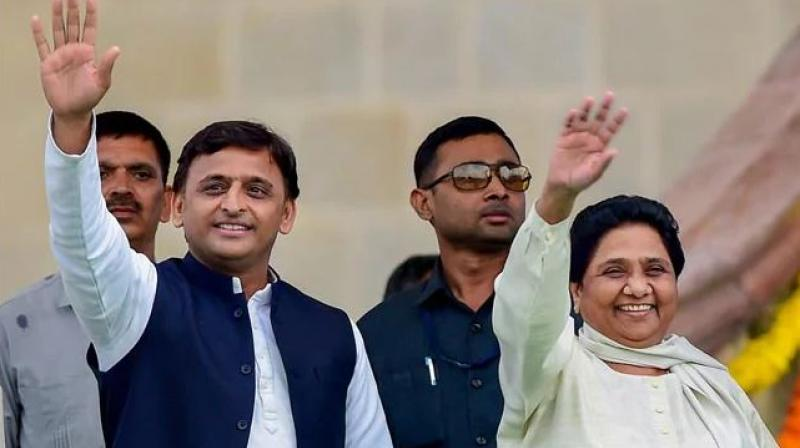 Last week, Akhilesh Yadav and Mayawati held a meeting in New Delhi and have reportedly moved closer to finalise a seat-sharing formula leaving the Congress out of the coalition fold. (Photo: File | PTI)