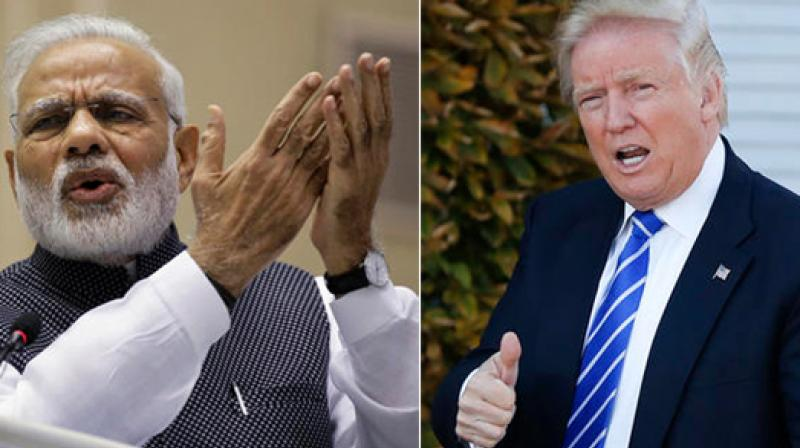 As President Donald Trump looks to help American workers, his administration is considering a broad review of a visa program used heavily by India's massive technology and outsourcing industries to send programmers and other computer specialists to the United States. (Photo: AP)
