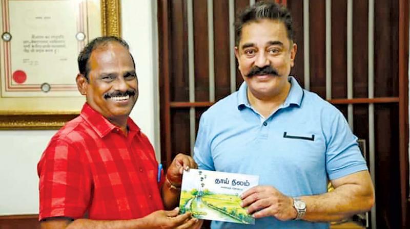 Azhagappan with Kamal Haasan