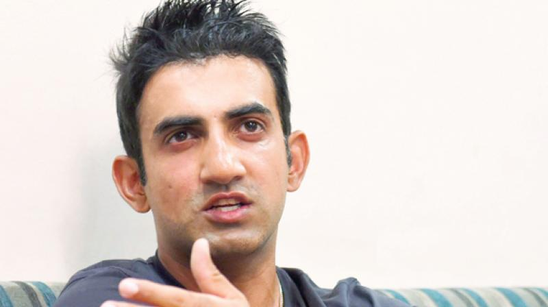 The Election Commission on Saturday directed East Delhi Lok Sabha seat Returning Officer (RO) to file an FIR against Gambhir, as his name figures twice in the electoral rolls. (Photo: PTI)