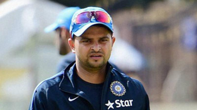 Suresh Raina will not feature in the second India-New Zealand ODI as he needs more time to recover. (Photo: PTI)