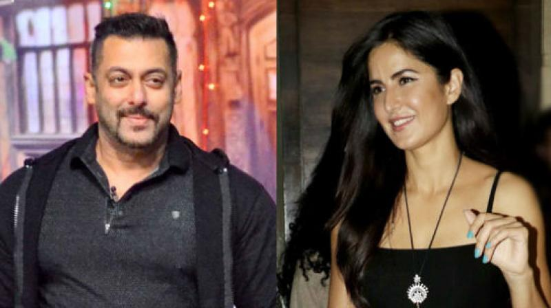 Salman Khan and Katrina Kaif.