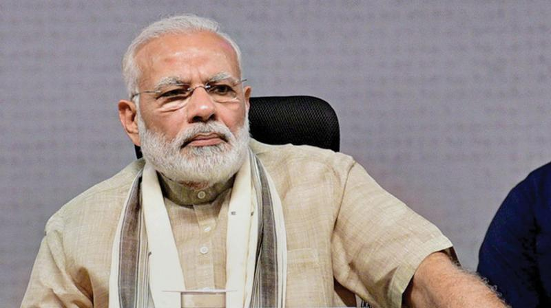 Through this event, PM Modi is aiming to mobilise support from the citizens and motivating workers for the upcoming 2019 Lok Sabha elections. (Photo: PTI | File)