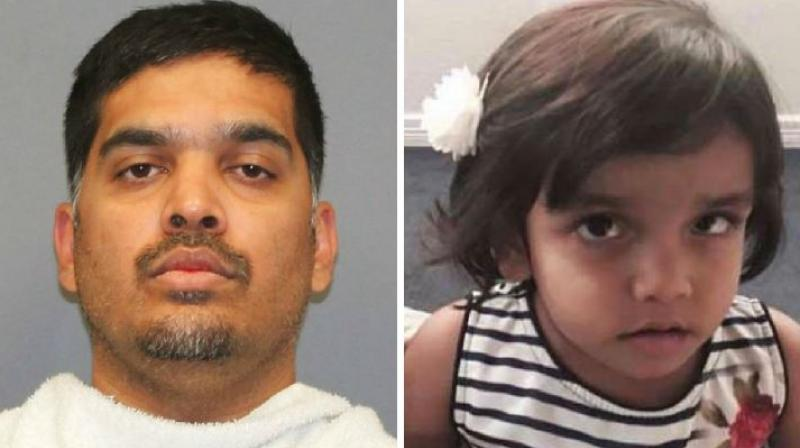 Wesley Mathews, 37, was re-arrested after the Indian-American changed his story about his adoptive daughter Sherin Mathew's mysterious disappearance over two weeks ago from their home. (Photo: AP/Facebook)