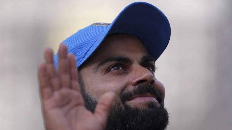 Virat Kohli will lead Team India in Champions Trophy 2017 as the team looks to defend the title India won under MS Dhoni in England in 2013. (Photo: BCCI)