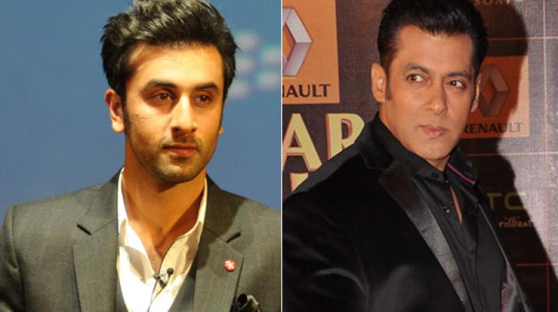 Salman has a history of not getting along with other stars and Ranbir is also reportedly one of them.