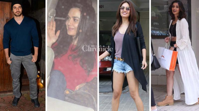 Sooraj Pancholi, Preity Zinta, Esha Gupta, Ileana D'Cruz and several other stars were spotted at various locations in Mumbai on Monday. (Photo: Viral Bhayani)