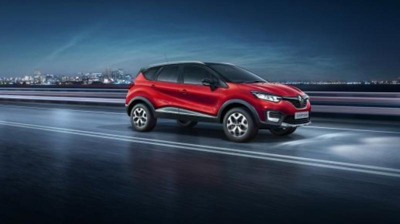 Renault has launched the Captur SUV in a new 'Radiant Red' colour option, which was showcased at the 2018 Auto Expo in February.