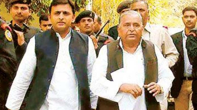 Shivpal, in late hours on Monday, asserted that Akhilesh should fulfill his moral duty of uniting the party and the family. (Photo: File)