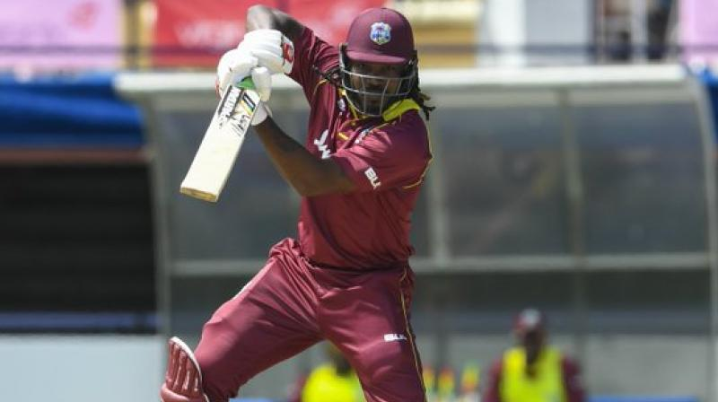 West Indies ODI skipper Jason Holder on Wednesday said that it is great to have Chris Gayle in the squad as he brings a lot of experience to the team. (Photo: Twitter/WIndies Cricket)