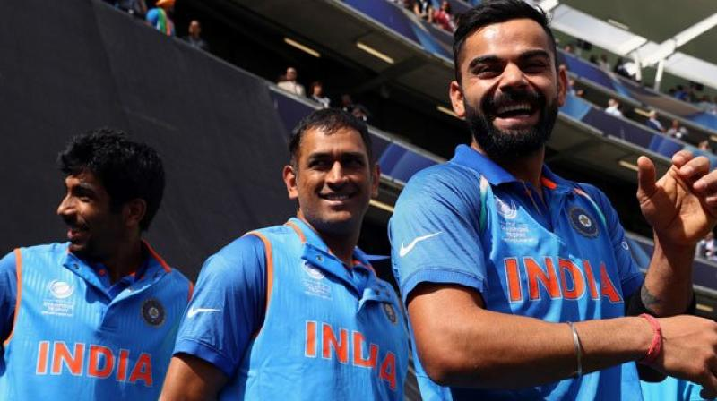 India will kick-off its World Cup campaign against South Africa at Hampshire Bowl, Southampton on June 5. (Photo: MS Dhoni Fans Official/Twitter)
