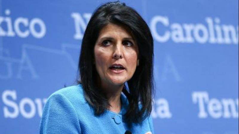 Haley emphasized that at the Florida summit 'the most important conversation will be how we're going to be dealing with the non-proliferation of North Korea'. (Photo: AP)