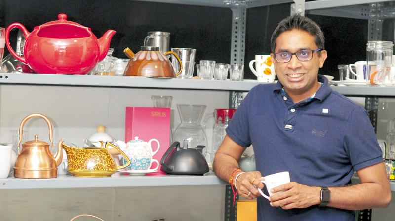Teapreneur Kaushal Dugar, founder & CEO, Teabox