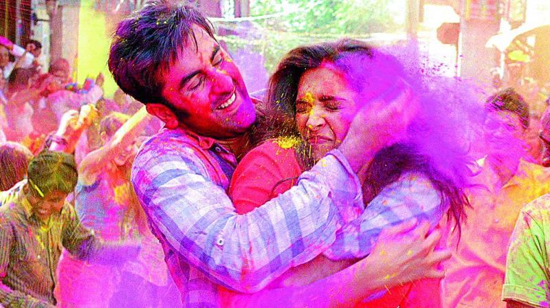 Play clean: Ranbir and Deepika in a still from Yeh Jawaani Hai Deewani.