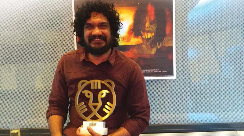 Sanal holding the honour at IFFR.