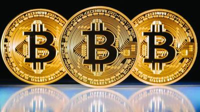 Bitcoin was last up 1.1 per cent at USD 7,056 on the Bitstamp exchange after soaring 14 per cent on Saturday.