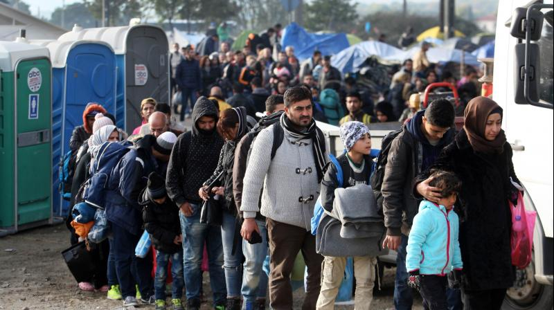 Some 7,500 of them have yet to present their cases for asylum or are refusing to answer questions about their identity. (Photo: AFP/Representational)
