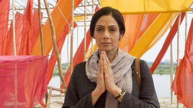 Sridevi in a still from 'Mom.'
