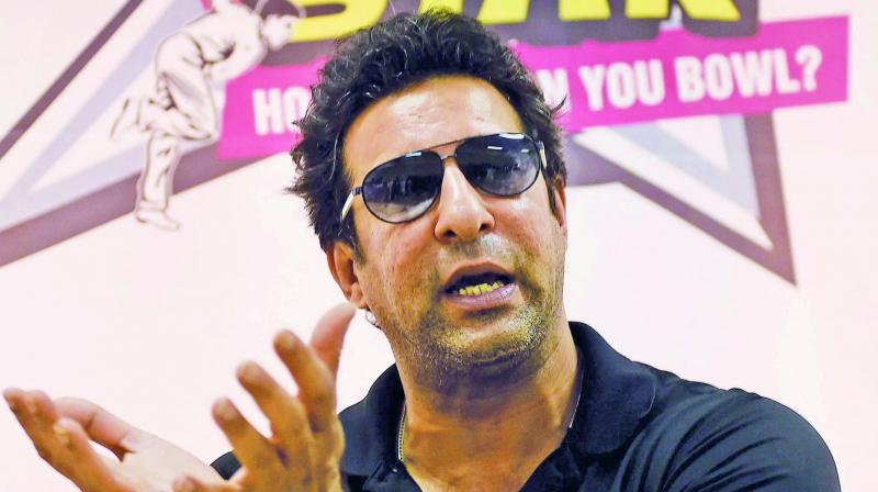 Former fast bowler Wasim Akram has spoken out on the country's poor cricket structure. (Photo: File)