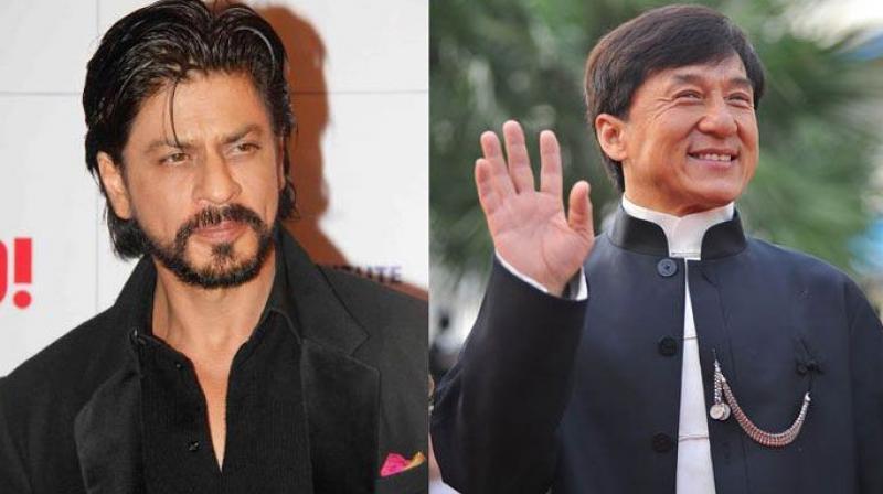 Shah Rukh Khan and Jackie Chan