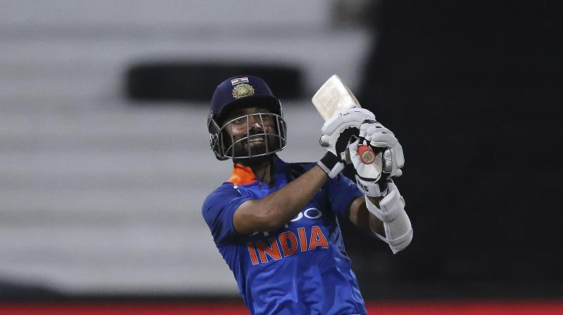 Rahane will be the first Indian to represent the club and the right-hander is set to play eight County Championship games between May and July, subject to visa clearance. (Photo: AP)