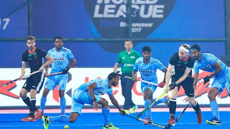 India clubbed with Belgium,Canada and South Africa in Pool C