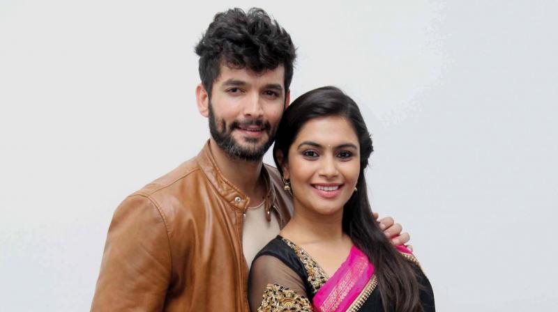 Diganth and Sonu Gowda