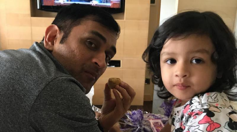 Dhoni Has Been Updating His Social Media Accounts With His Daughter Pictures And Videos Which