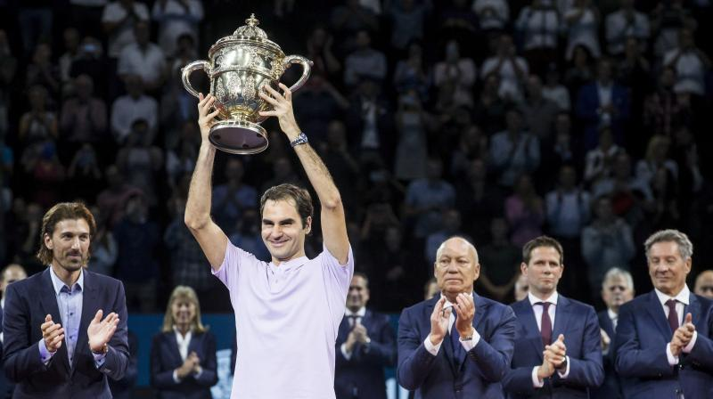 Federer lost only two sets during the week as he improved his head-to-head record to 17-6 over del Potro, with a third win in four matches against the former US Open champion in 2017.(Photo:AP)