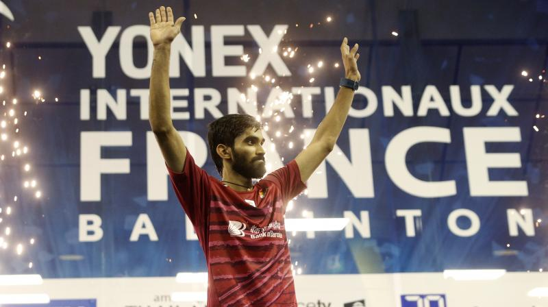 Srikanth said that world No 1 Viktor Axelsen of Denmark is still way ahead of him in terms of points.(Photo:AP)