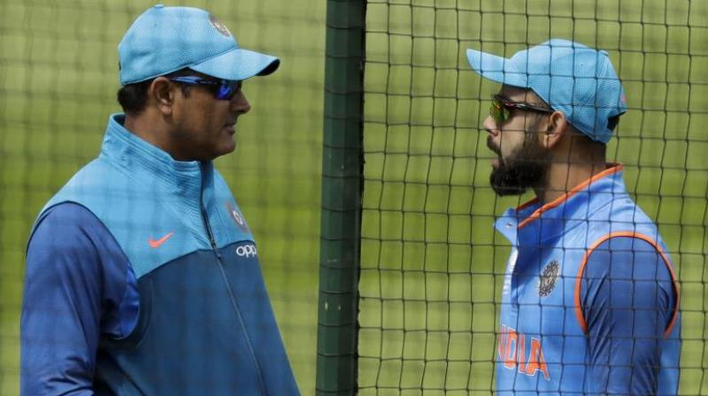 Anil Kumble has been nominated for coach of the year award after having  successful stint with India cricket team. (Photo:AP)