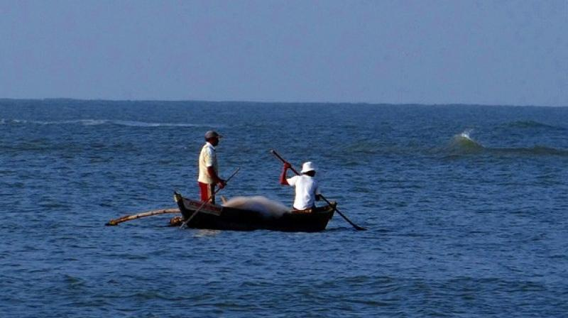 This came exactly a week after the Sri Lankan Navy detained three fishermen on similar charges.  (Photo: Representative Image /ANI)