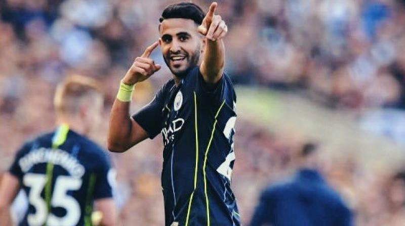 The Algerian has chipped in with seven league goals and four assists this season. (Photo: Riyad Mahrez/Twitter)