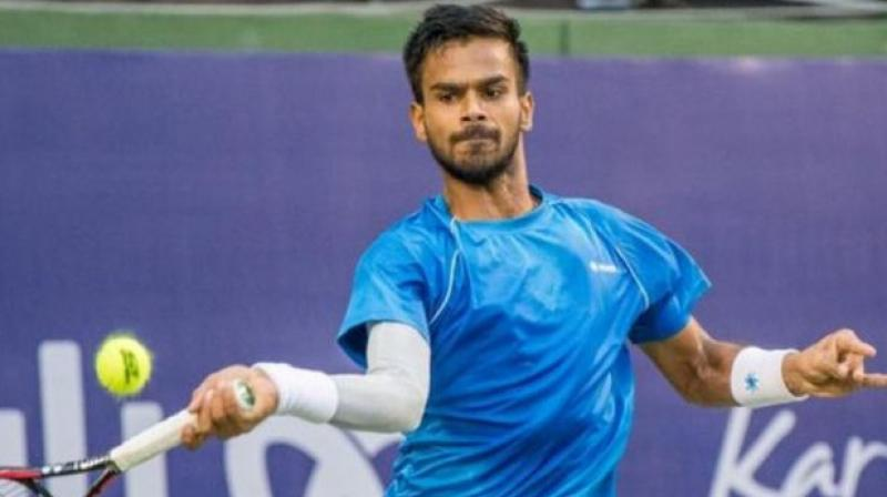 Nagal came into the US Open qualifiers confident, backed by terrific results during the clay court season. (Photo: Twitter)