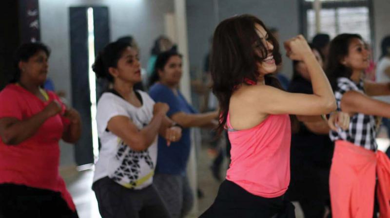 Arunima Gupta at her dance studio