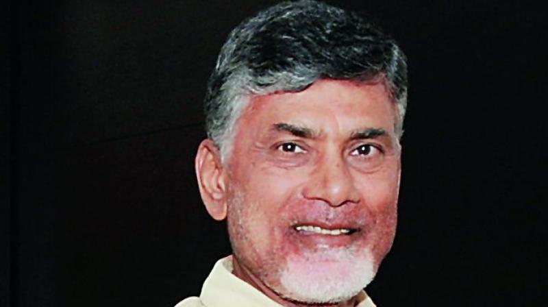 Andhra Pradesh Chief Minister N. Chandrababu Naidu.