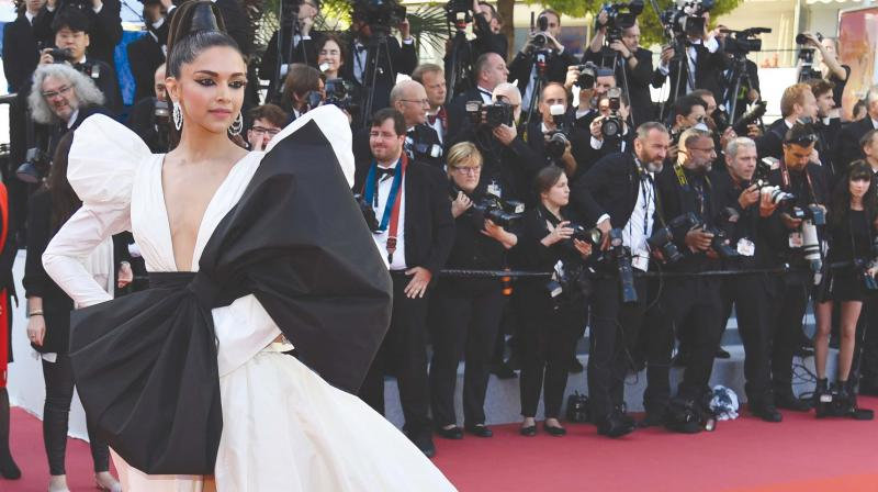 Deepika Padukone at the Cannes 2019