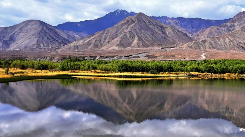 A panoramic view of Ladakh (Photo: Amit and Mousumi Sengupta)